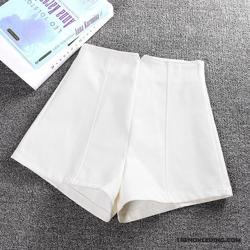 Korte Broek Dames Wit.Korte Broek Dames Bovenkleding Nieuw Winter Slim Fit Casual Broek Herfst Wit