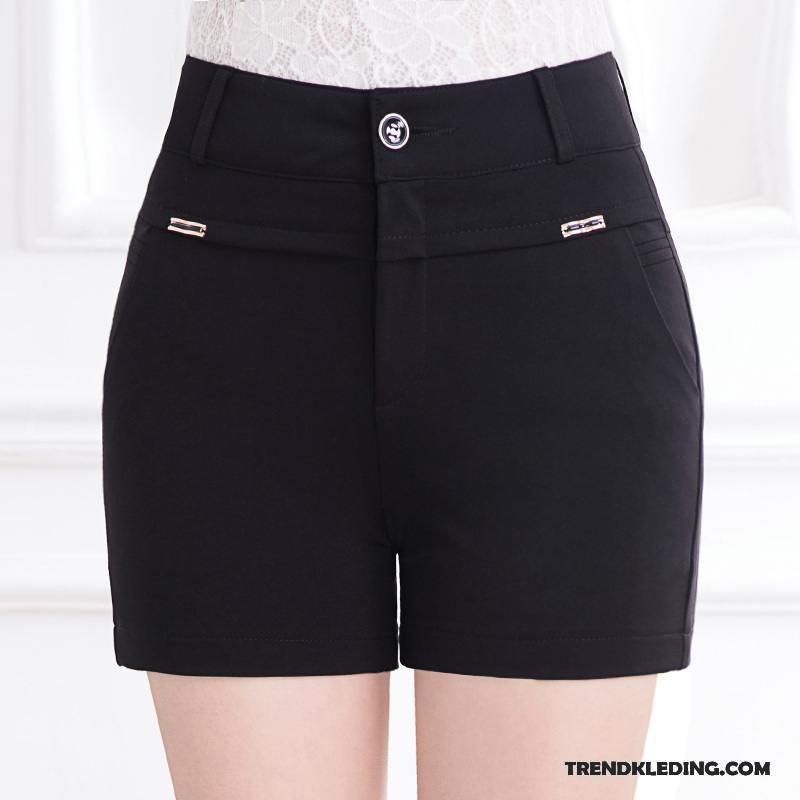 Korte Broek Zwart Dames.Korte Broek Dames Grote Maten Leggings Bovenkleding Voorjaar Nieuw