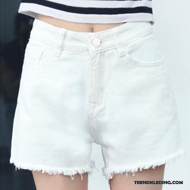Korte Broek Dames Jeans.Korte Broek Dames Spijkerbroek Jeans Zomer 2018 Nieuw Rechtdoor