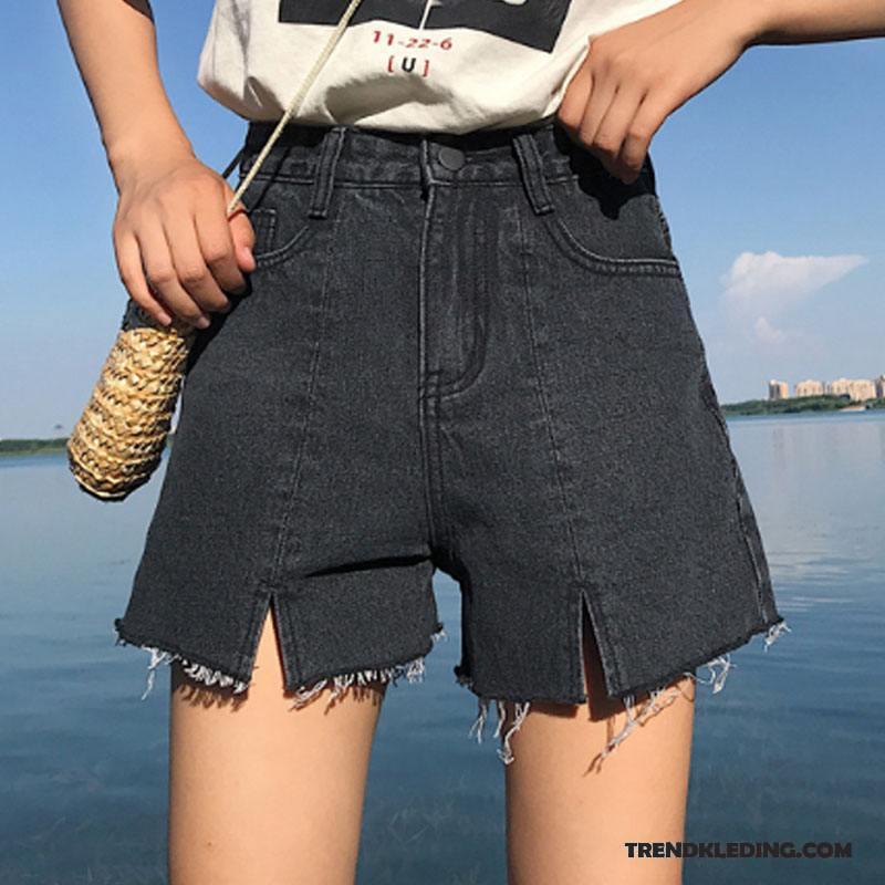 Korte Broek Dames Hoge Taille.Korte Broek Dames Zomer Losse Trend Hoge Taille Spijkerbroek Jeans