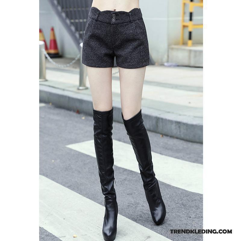 Korte Jeans Broek Dames.Korte Broek Taille Zomer Jeans Spijkerbroek Trend Losse Hoge