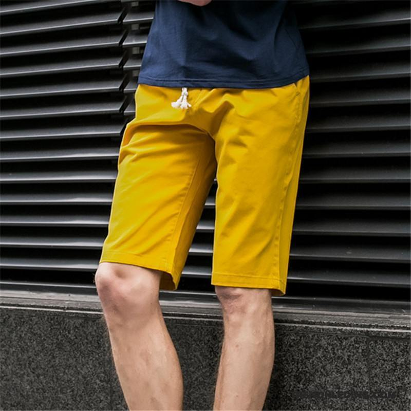 Sport Korte Broek Heren.Korte Broek Heren Jeugd Sport Casual Trend Zomer Mannelijk Zandkleur